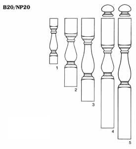 Baluster and Newel Patterns Pagliacco Turning & Milling