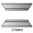 Crown cap and base for square, non-tapered craftsman columns available from CheapColumn.com