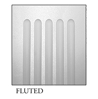 Fluted panel for square, non-tapered craftsman column available from CheapColumn.com