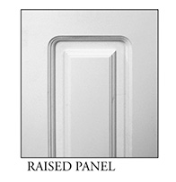 Raised panel for square, non-tapered craftsman column available from CheapColumn.com