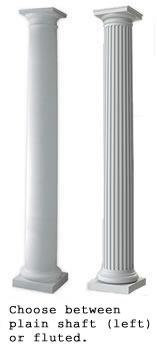 Fluted Tuscan Fiberglass Column Prices